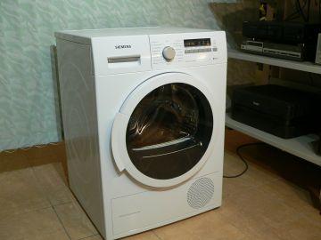 Sušička Siemens WT 46W271EX, tepelné čerpadlo IQ 700